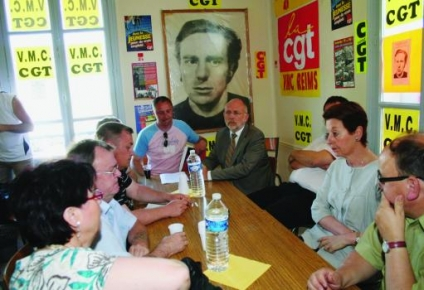 Les VMC avec la maire de Reims